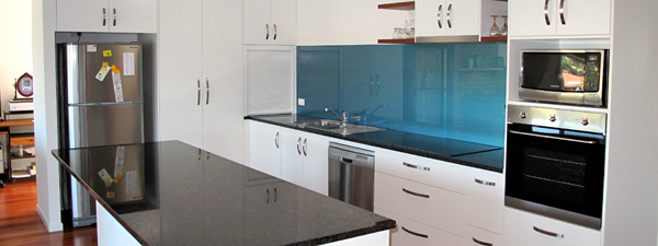 Blueglass and white